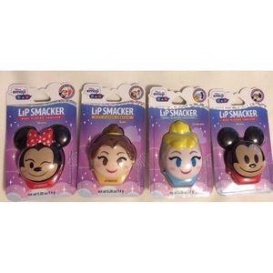 New Lip smacker emoji  Lot Of 4 Mickey belle gloss